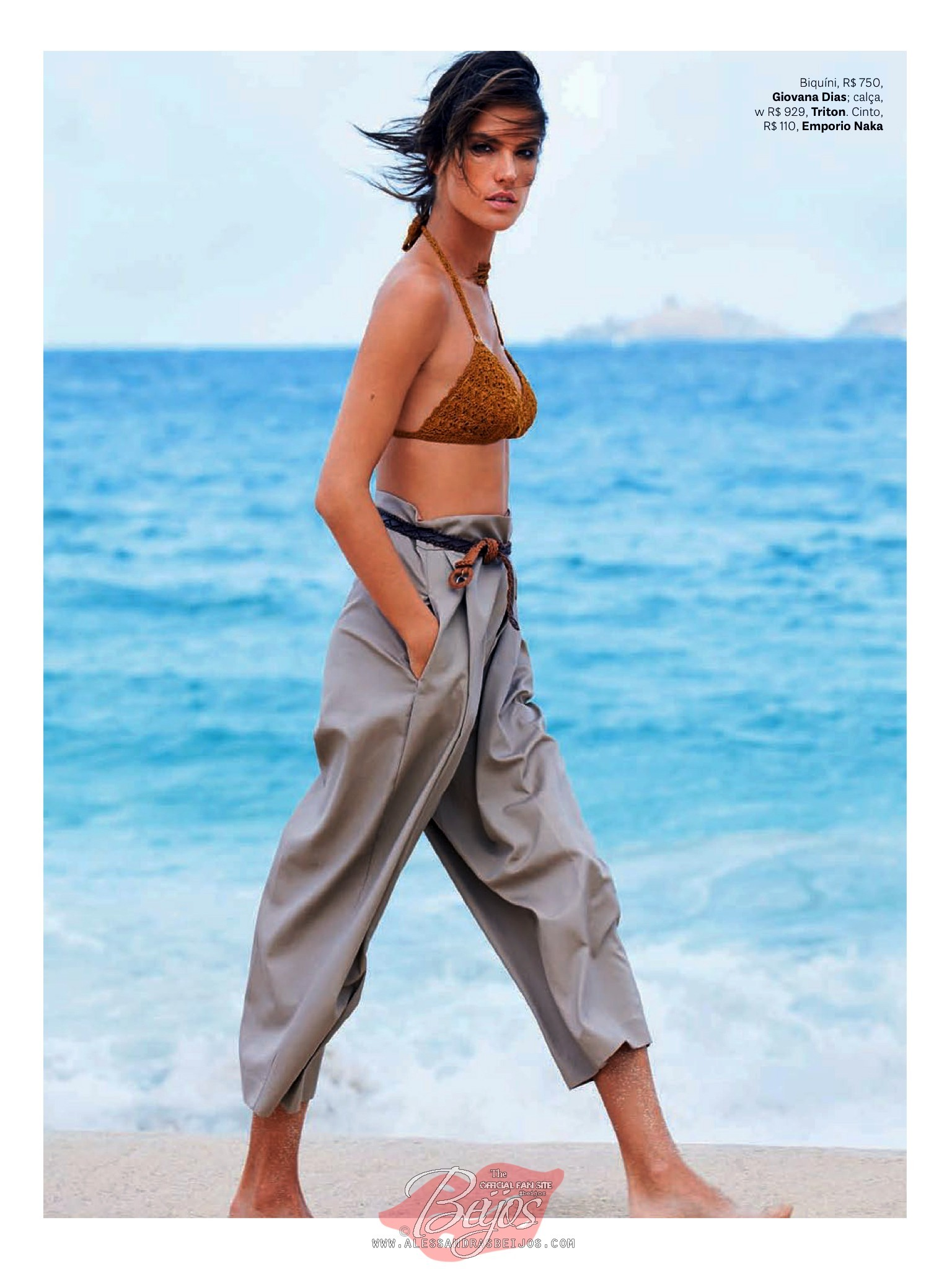 Alessandra Ambrosio posa desnuda para Maxim -
