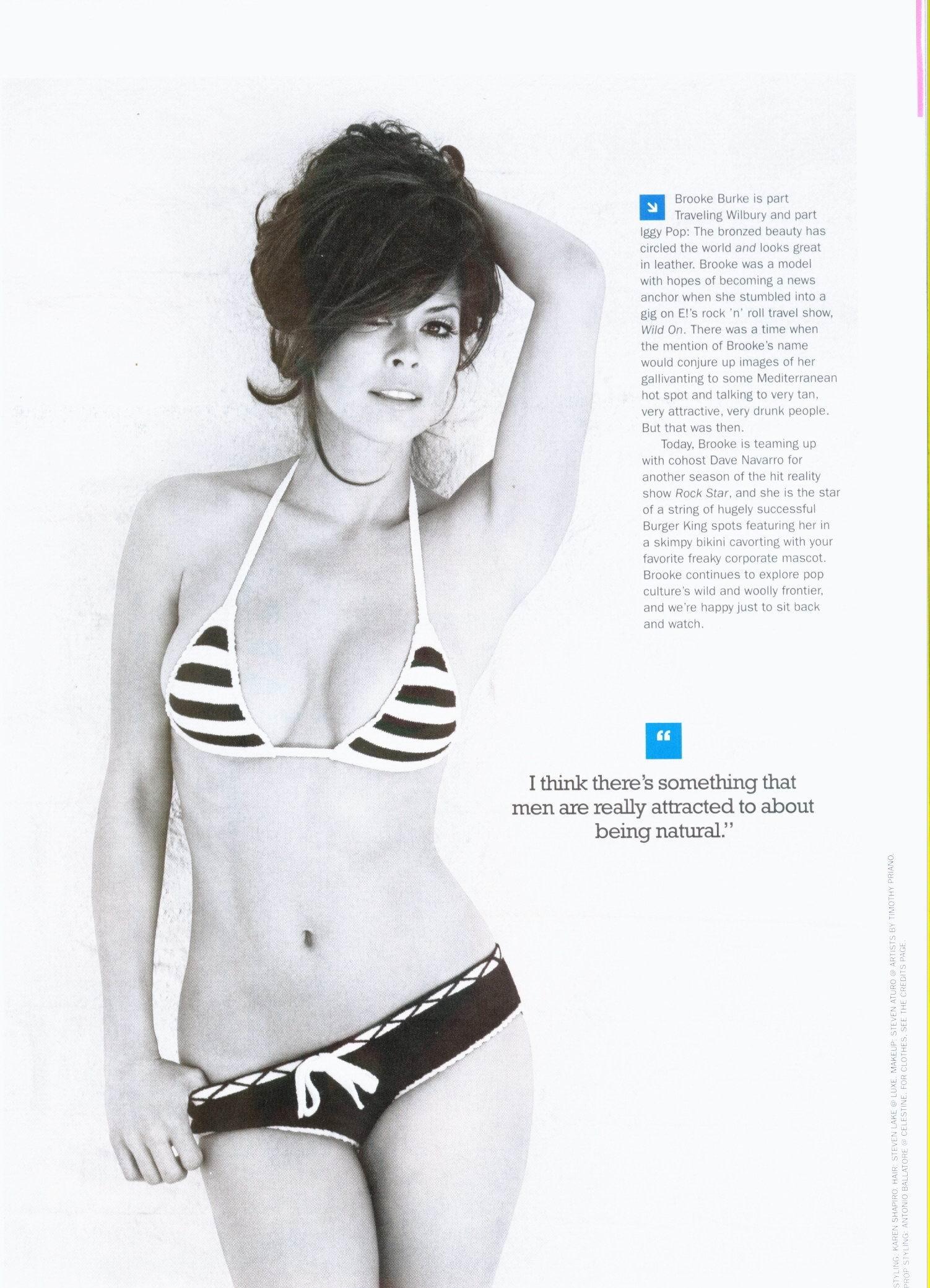 Brooke burke gratis fotos desnuda