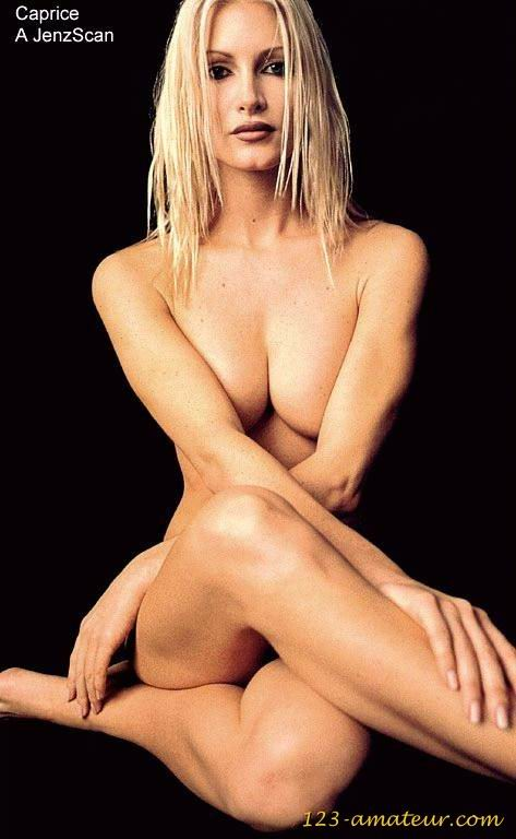 Caprice bourret nude pic