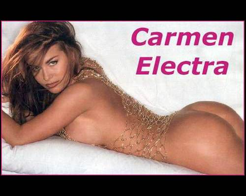 Fotos de desnudos de Carmen Electra filtradas en
