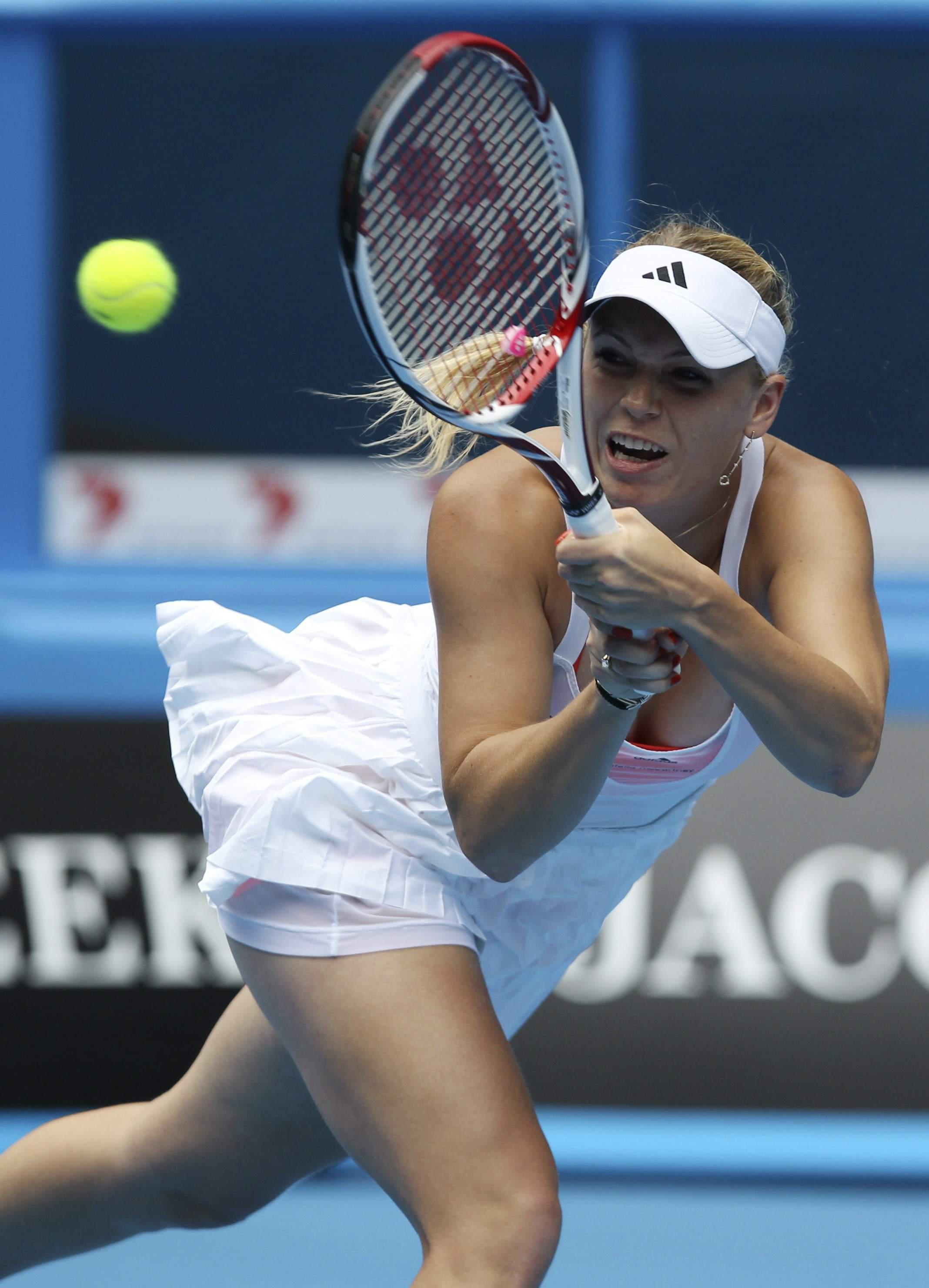 Las fotos de Caroline Wozniacki desnuda para Sports