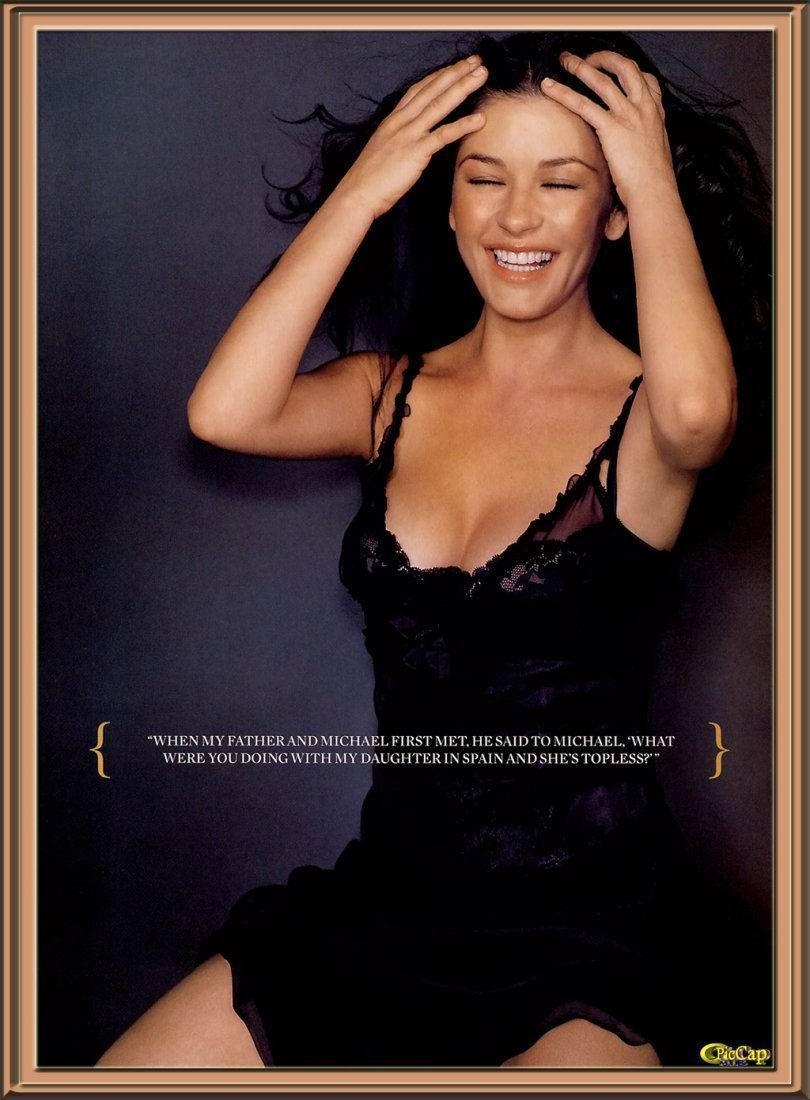 Catherine Zeta Jones desnuda - Fotos y Vdeos
