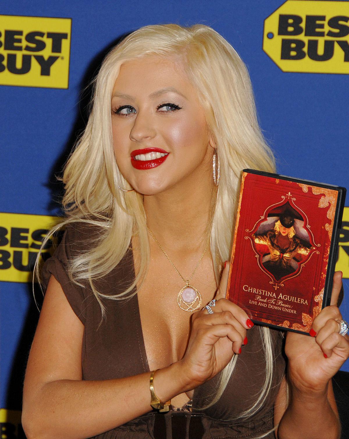 Cristina Aguilera: fotos desnuda filtradas - Noticias