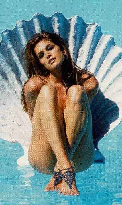 Fotos de desnudos de Cindy Crawford filtradas en