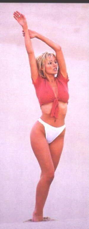 Dannii Minogue se desnuda