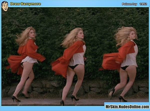 Drew Barrymore desnuda, el ángel que se ha hecho