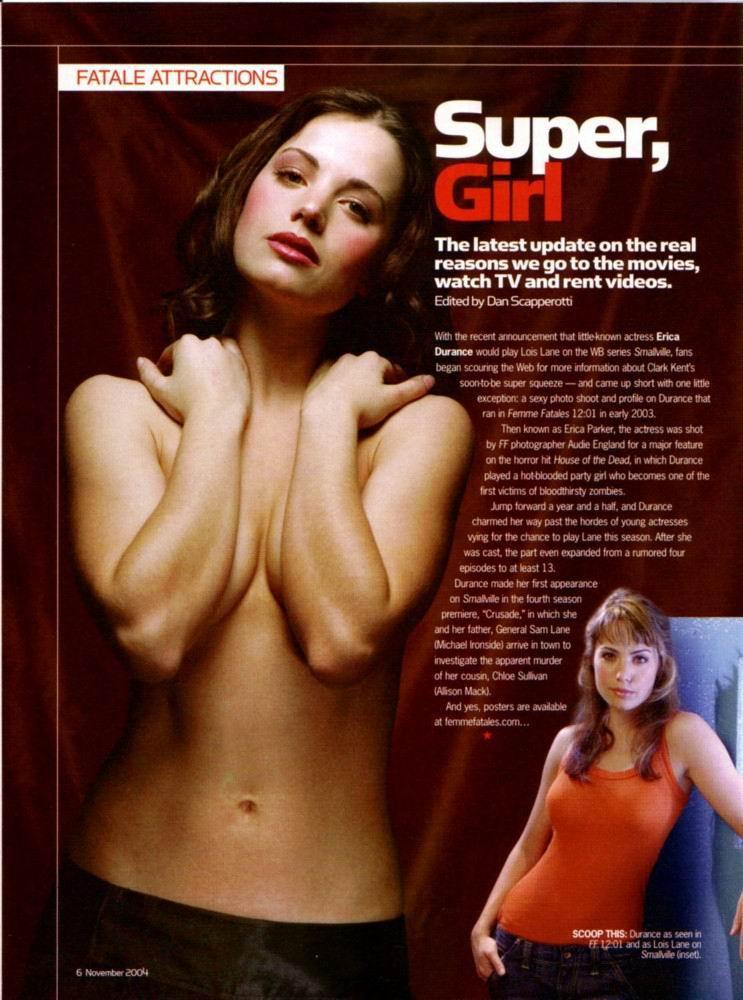 Erica durance desnuda desnuda en topless