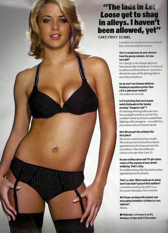 Gemma Atkinson desnuda Imágenes, vídeos y