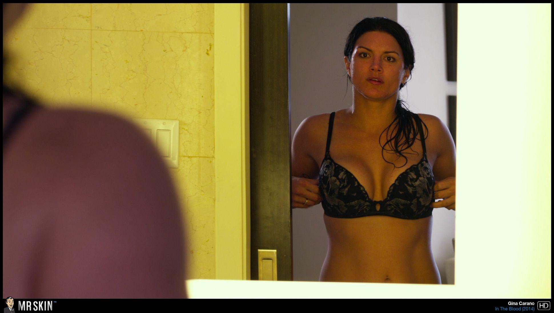 Gina Carano nackt, Oben ohne Bilder, Playboy Fotos,