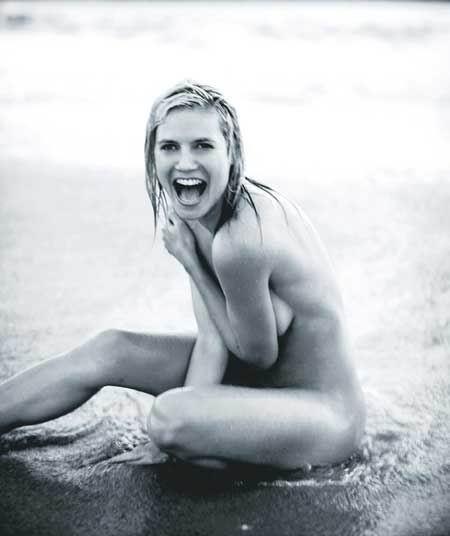 Todas las fotos de Heidi Klum desnuda - Beevoz