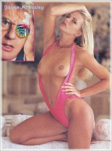 Jaime Pressly posando desnuda para Playboy 1998 La