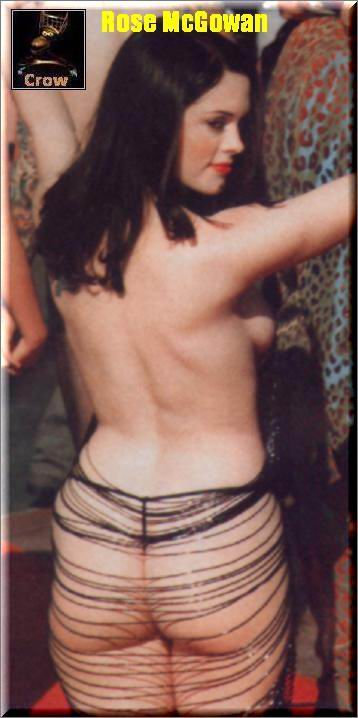 Foto desnuda de Rose mcgowen