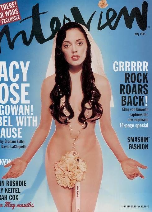 Rose McGowan Nude Photos &