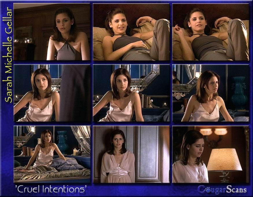 Sarah Michelle Gellar desnuda, Buffy se nos hace mayor