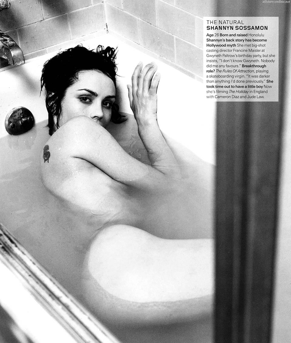 Foto desnuda gratis de shannyn sossamon